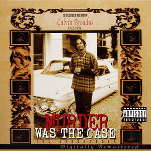 OST- Murder Was The Case /  Death Row Records
