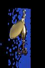 Akka Spinnare   7 gram Guld