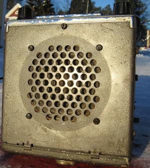 1965 Motorola Solid State TM295M bilradio