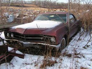 1967 Buick Special Deluxe 2-door Hardtop