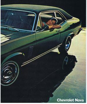 1970 Chevrolet Nova Försäljnignsbroschyr
