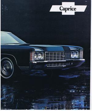 1970 Chevrolet Försäljningsbroschyr Caprice