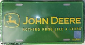 John Deere  Nothing runs like a deere.