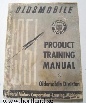 1951 Oldsmobile Product Training Manual
