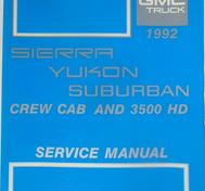 1992 GMC Sierra, Yukon, Suburban, Crew Cab and 3500 HD Service Manual