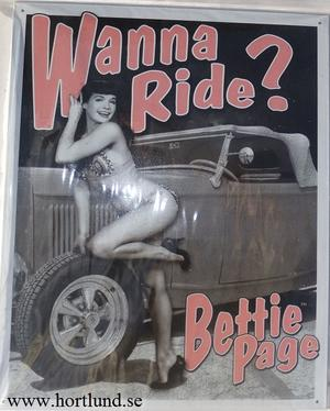 Bettie Page  Wanna Ride?