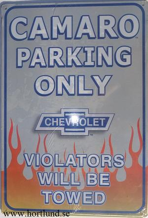 Camaro Parking Only
