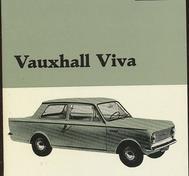 1966 Vauxhall Viva Handbok svensk
