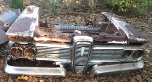 1959 Edsel front i delar