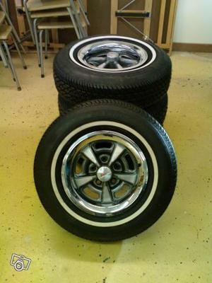 "Pontiac Rally II GM Option Fälgar 14x6"""