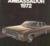 1972 AMC broschyr Ambassador 1972