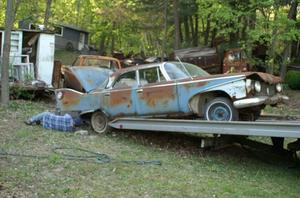 1960 Plymouth Fury 4d Sedan