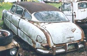 1953 Hudson Super Wasp 4d Sedan
