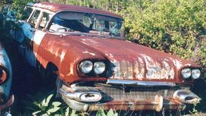 1958 Pontiac Chieftain Safari