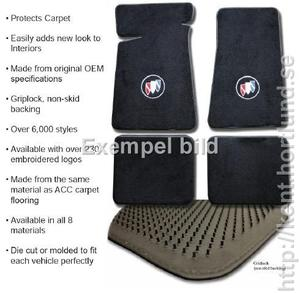 66 - 70 Carpet Floor Mats 4pc FM14