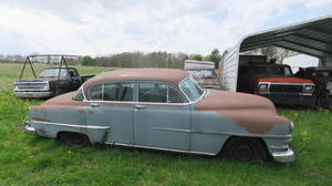 1953 Chrysler Windsor De Luxe Four-Door Sedan