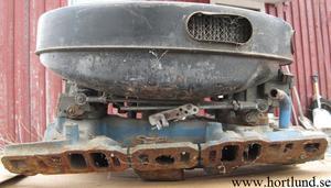 1963 Pontiac 389 & 421 Six-Pack insug med förgasare