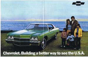 1972 Chevrolet Impala Affisch