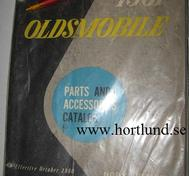 1961 Oldsmobile Body Parts Book