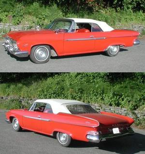 1960-1961 Dodge, Plymouth, Chrysler. Cab, pads och bakruta