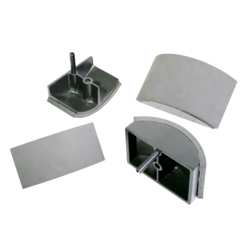 Secabo exchangeable base plates for TCC