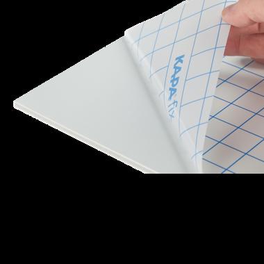 KapaFix® 5 mm, vit självhäftande