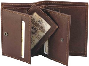 WALLET ELK/MOOSE LEATHER black