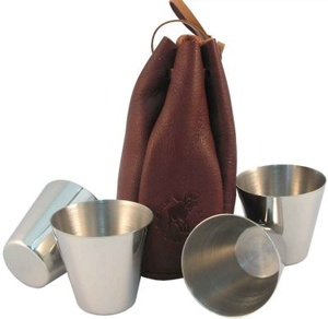 LEATHERBAG AND CUPS