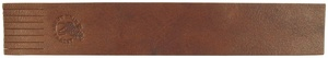 Bookmark in elk leather