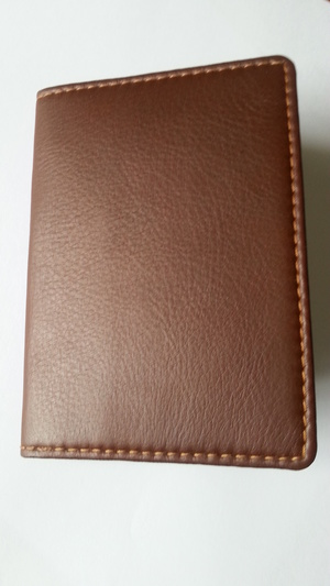 PASSPORT CASE MOOSE/ELK LEATHER