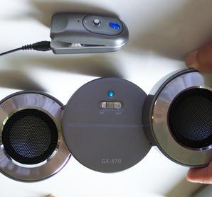 Trådlös mobil Bluetooth PA-anläggning