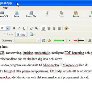 WorldPenScan X + SpeakApp SVE 5
