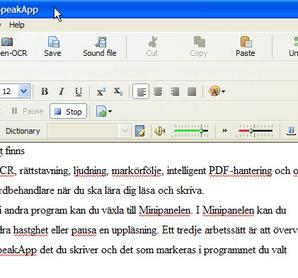 WorldPenScan X + SpeakApp SVE/ENG 8