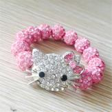 Shamballa Kitty rosa