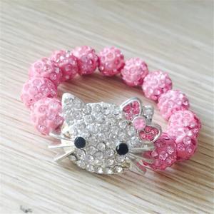 Shamballa Kitty rosa