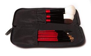 Penselkit med 10 penslar och väska 30%