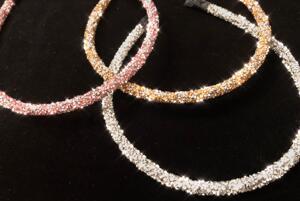 Diadem 67 rosa/silver