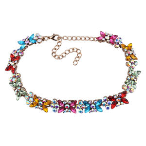 Deluxe neck multi crystal