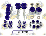 Bussning Superpro Front And Rear Suspension Bush Kit