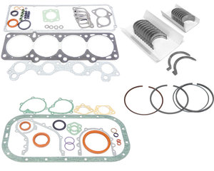Restoration kit Volvo B230A gaskets bearings rings carb engine EARLY 55mm main journal