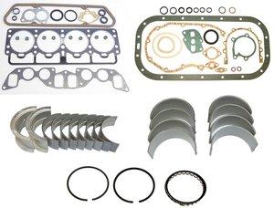 Restoration kit Volvo B20B gaskets bearings rings