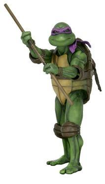 NECA - 1/4 SCALE Donatello figure - Turtles 1990 Movie