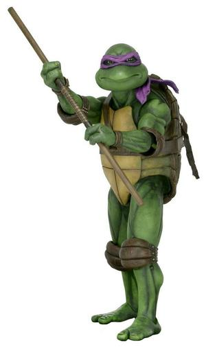 NECA - 1/4 SCALE Donatello figure - Turtles 1990 Movie