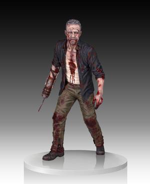 The Walking Dead: Merle Dixon Walker Statue