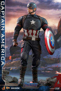 Hot Toys - Endgame Captain America Sixth Scale Collectible Figure
