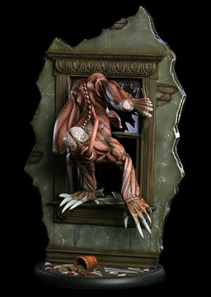 Resident Evil: Licker Diorama