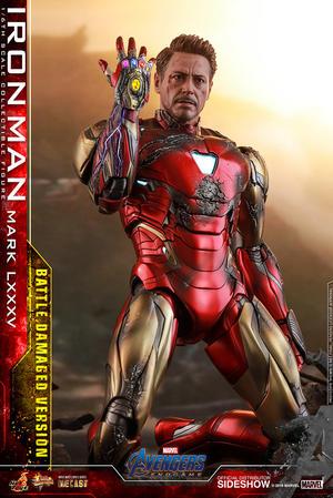 Iron Man Mark LXXXV (Battle Damaged Version)