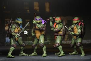 "NECA - Teenage Mutant Ninja Turtles 1990 Movie 7"" Action figures  set of 4"