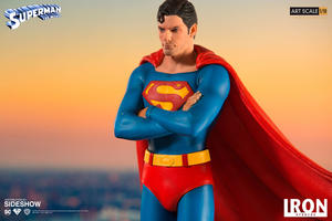 Iron Studios  Superman 1978 Deluxe Statue Art Scale 1:10