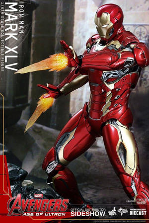 Hot Toys -  Iron man Mark XLV Diecast AoU Sixth Scale Figure